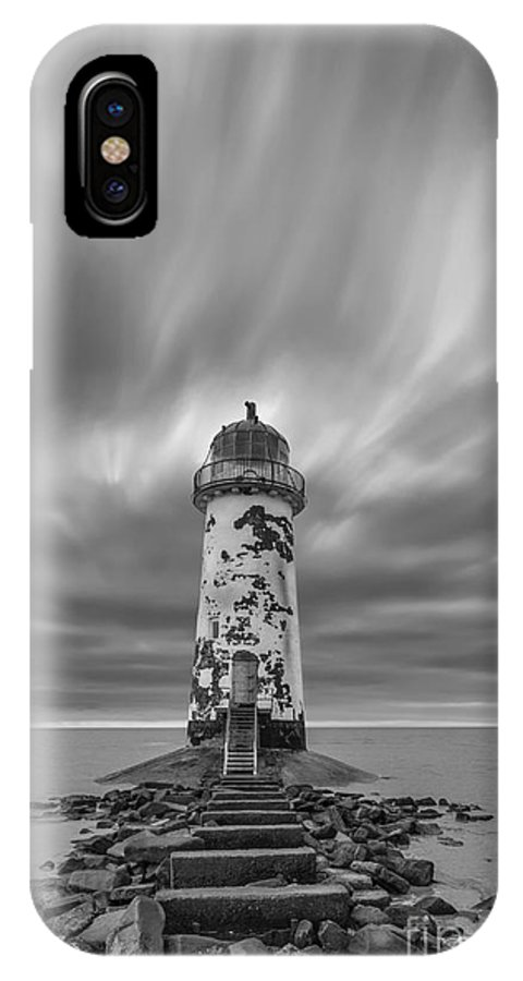 Abandoned IPhone X / XS Case featuring the photograph Deserted Lighthouse by Bahadir Yeniceri