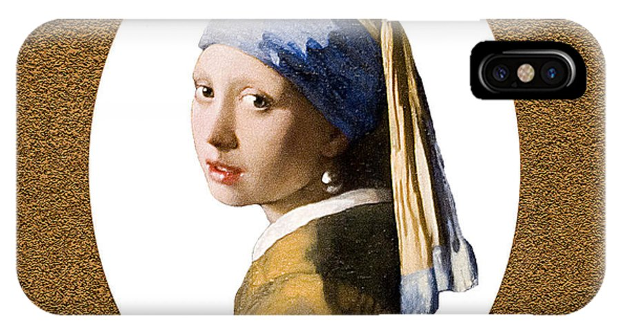 Vermeer IPhone X Case featuring the photograph Dutch Beauty by Peter Lloyd