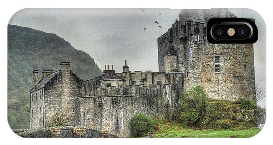Architecture IPhone X Case featuring the photograph Eilean Donan Castle by Juli Scalzi