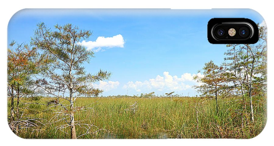 Everglades IPhone X Case featuring the photograph Florida Everglades by Rudy Umans