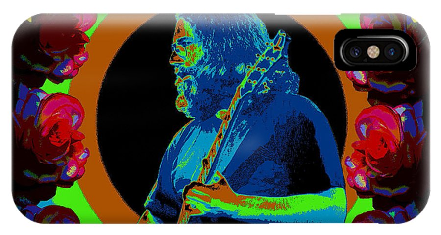 Jerry Garcia IPhone X Case featuring the photograph Forever Grateful by Ben Upham III