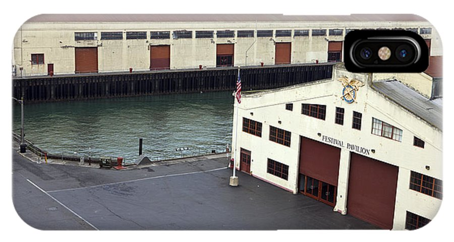 Travel IPhone X Case featuring the photograph Fort Mason San Francisco by Jason O Watson
