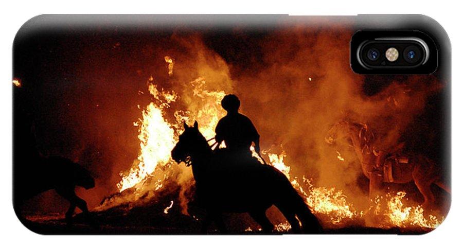 Argentina IPhone X Case featuring the photograph Gauchos by Javier Etcheverry / Vwpics