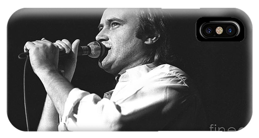 Genesis IPhone X Case featuring the photograph Genesis by Concert Photos