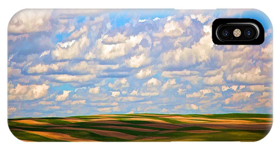 Great Plains IPhone X Case featuring the photograph Great Plains by John Douglas