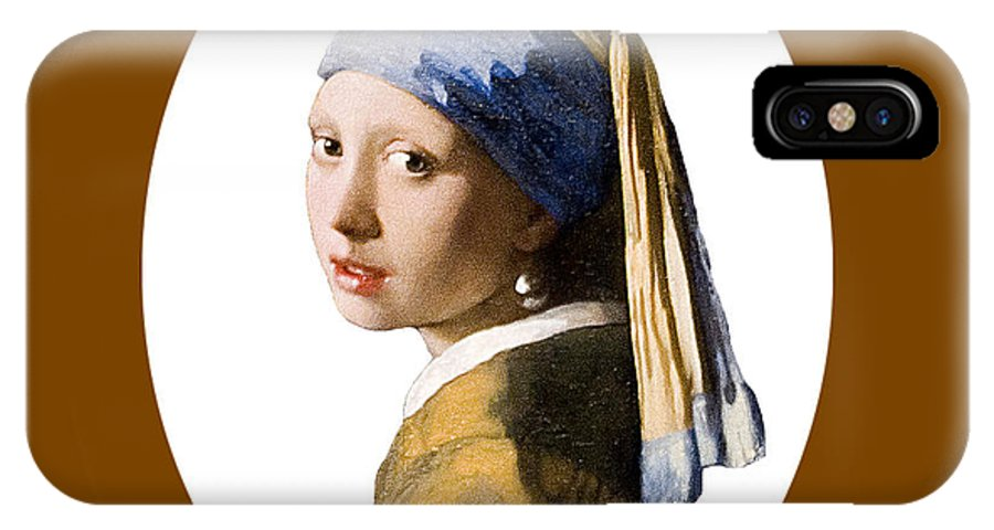 Vermeer IPhone X Case featuring the photograph Held In Beauty's Gaze by Peter Lloyd