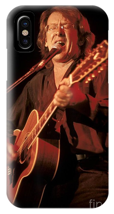 Guitarist IPhone X Case featuring the photograph Jefferson Airplane by Concert Photos