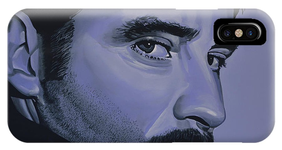 Kevin Kline IPhone X Case featuring the painting Kevin Kline by Paul Meijering