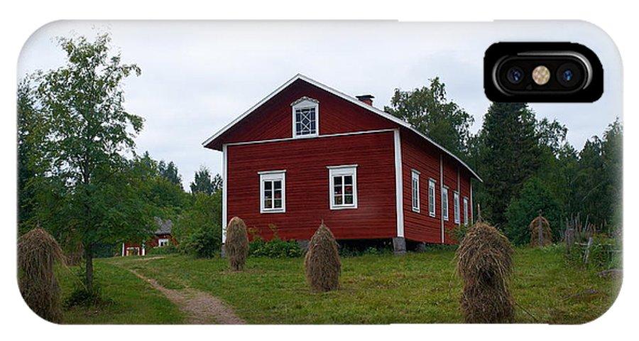Finland IPhone X Case featuring the photograph Kovero by Jouko Lehto