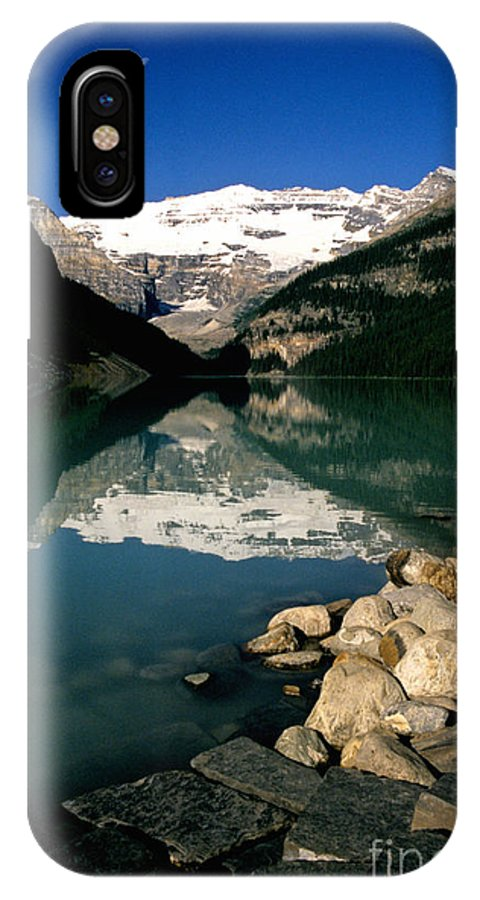 Lake Louise IPhone X Case featuring the photograph Lake Louise Iv by Sharon Elliott