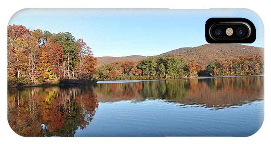 Lake Tamarack IPhone X Case featuring the photograph Lake Tamarack by David Dittmann