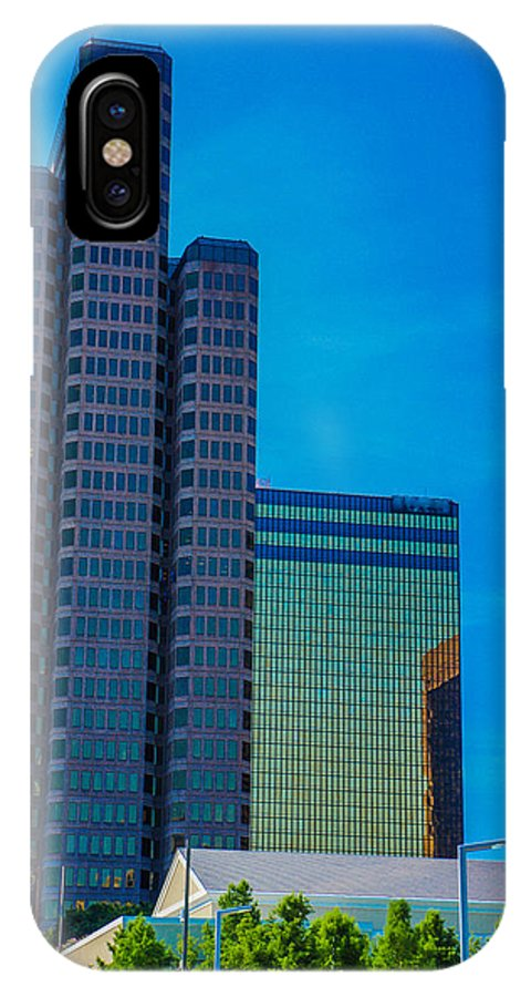Landscapes IPhone X Case featuring the photograph Landmark Buildings by Tinjoe Mbugus