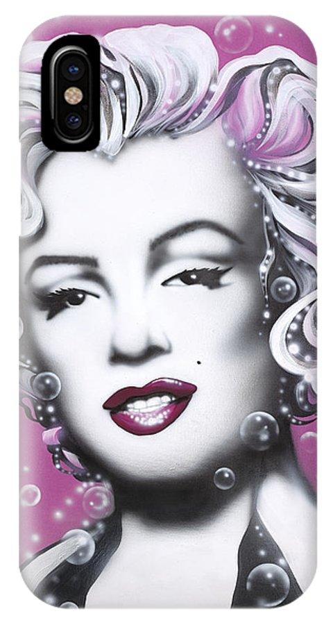 Marilyn Monroe IPhone Case featuring the painting Marilyn Monroe by Alicia Hayes
