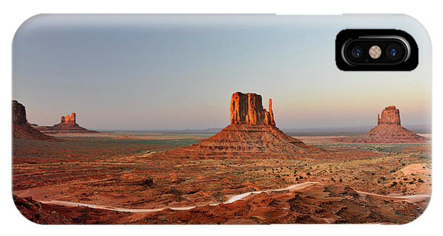 Monument IPhone X Case featuring the photograph Monument Valley by Christine Till