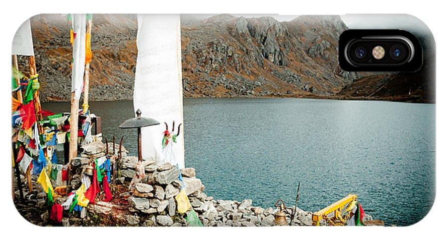 Gosaikunda IPhone X Case featuring the photograph Mountain Lake Gosaikunda Nepal by Raimond Klavins