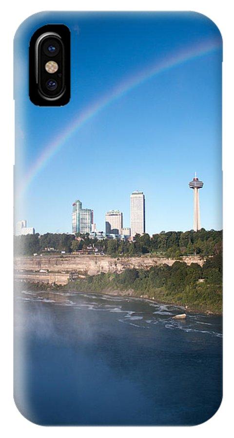 Niagara Falls IPhone X Case featuring the photograph Niagara Falls by Gaurav Singh