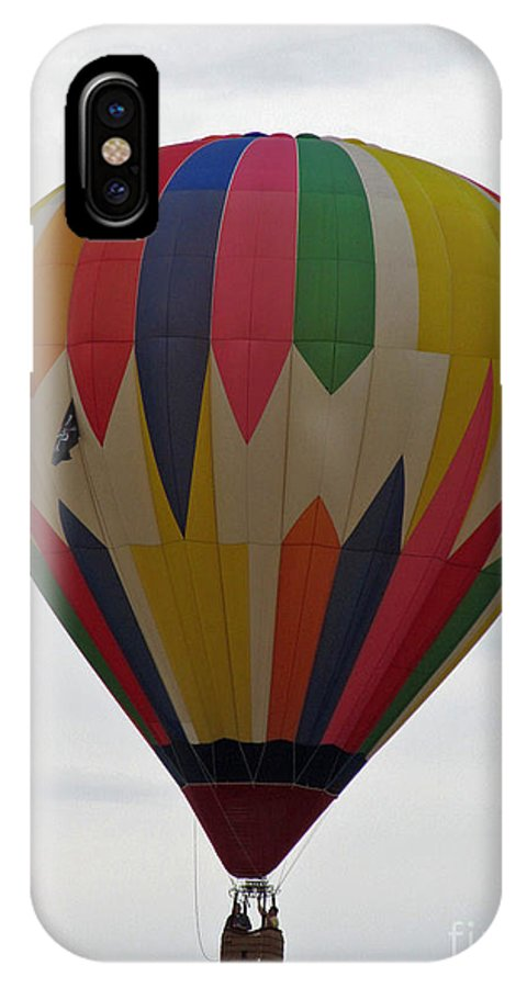 Hot Air Balloons IPhone X Case featuring the photograph Paint Streaks by Jamie Smith