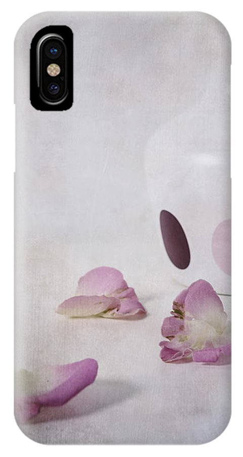 Detail IPhone X Case featuring the photograph Petals by Joana Kruse