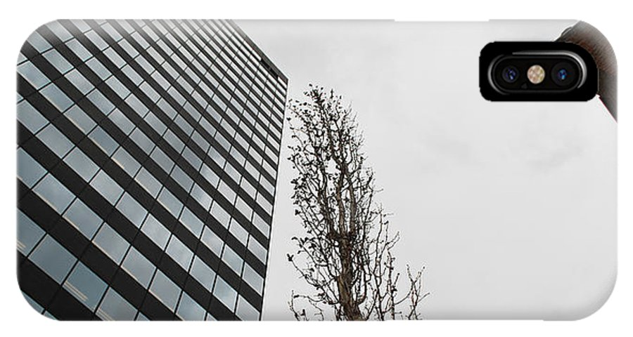 Street Photography IPhone X Case featuring the photograph Plastic Trees by The Artist Project