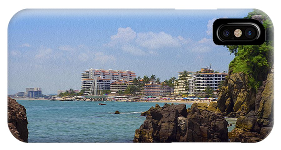 Puerto Valllarta IPhone X Case featuring the photograph Puerto Vallarta by Aged Pixel