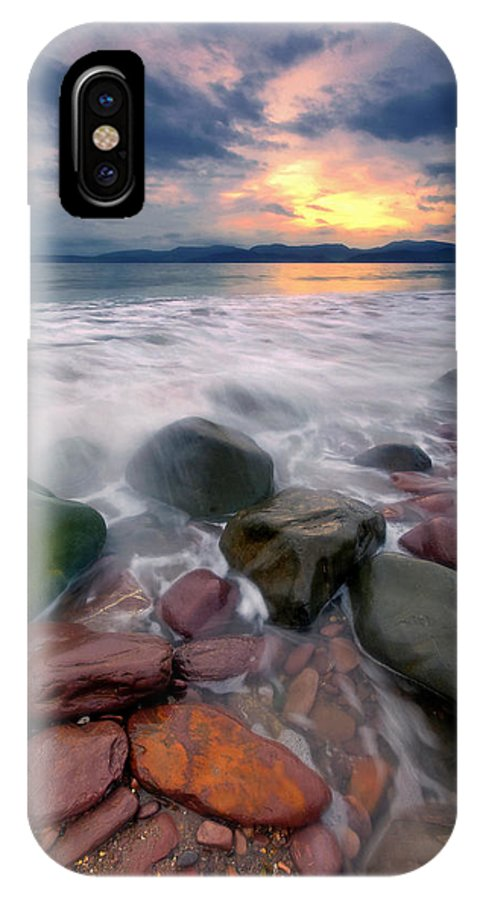 Ireland IPhone X / XS Case featuring the photograph Rossbeigh Beach by Michael Walsh