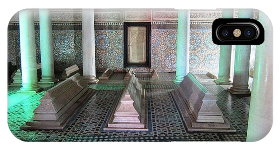 Tombs IPhone X Case featuring the photograph Saadian Tombs 2 by Teresa Ruiz