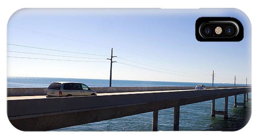 Seven Mile Bridge IPhone X Case featuring the photograph Seven Mile Bridge Florida Keys by Jason O Watson