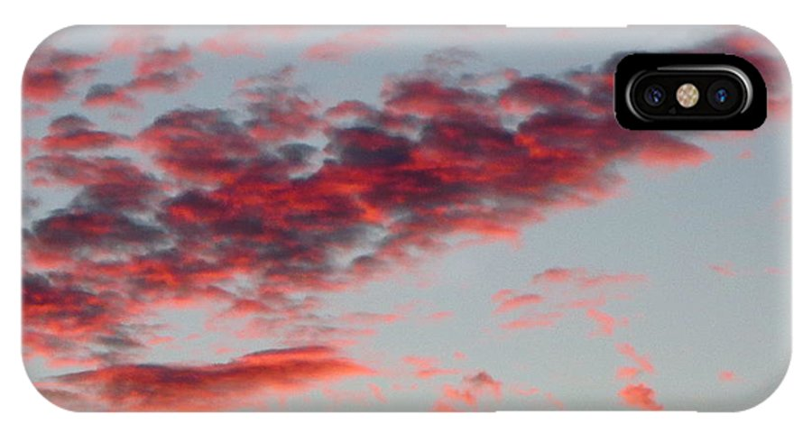 Sky Full Of Fire. Photo Taken In Ft. Myers IPhone X / XS Case featuring the photograph Sky Full Of Fire. Photo Taken In Ft. Myers Florida At Sunset. by Robert Birkenes