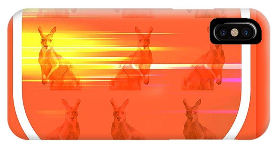 Meeting IPhone X Case featuring the digital art Speed by Meiers Daniel
