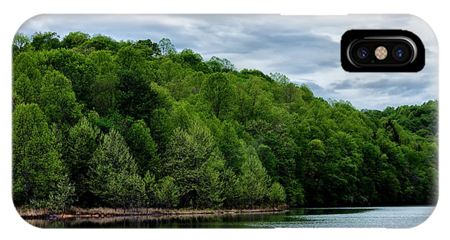 Spring IPhone X Case featuring the photograph Stonewall Jackson Lake Wildlife Management Area by Thomas R Fletcher