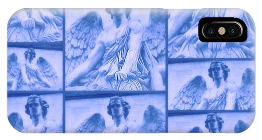 Connect IPhone X Case featuring the digital art The Angels by Meiers Daniel