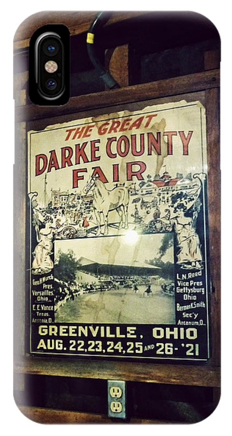 Bear's Mill IPhone X Case featuring the photograph The Great Darke County Fair by Natasha Marco