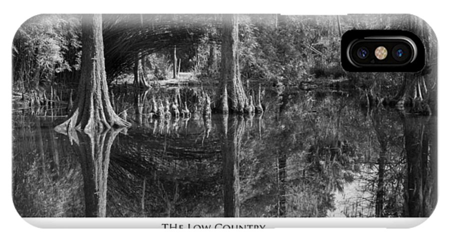 The Lowcountry Photographs IPhone X Case featuring the photograph The Low Country by Frederick H Claflin