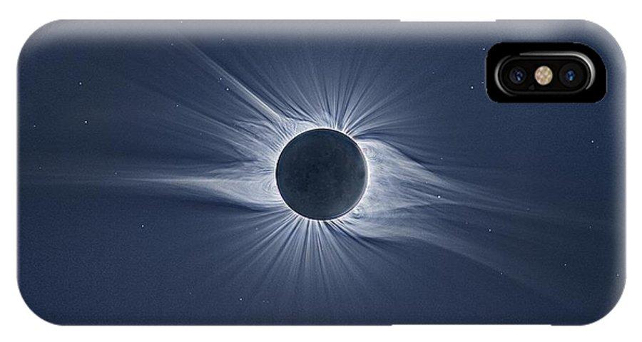 new product 6ecc8 61498 Total Solar Eclipse IPhone X Case