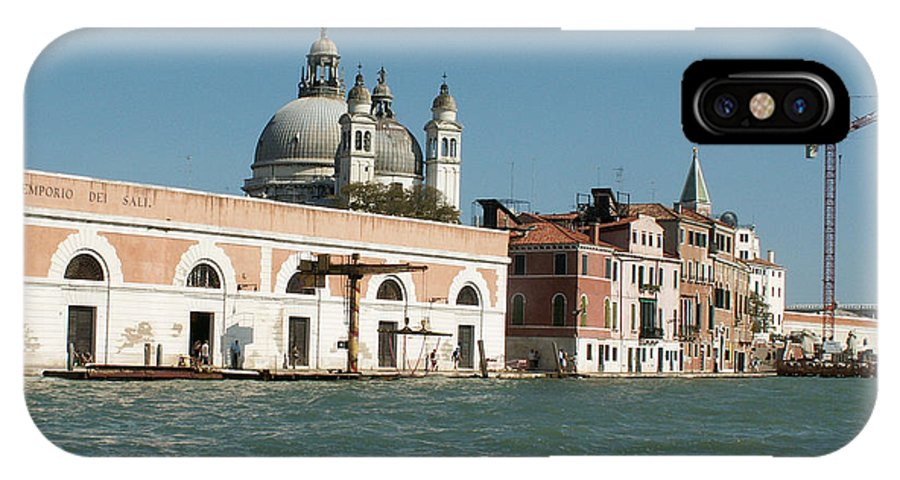 Italy IPhone X Case featuring the photograph View On Venice by Evgeny Pisarev