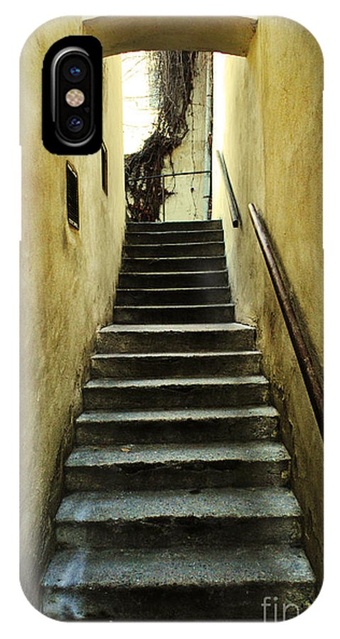 Stairs IPhone X Case featuring the photograph Stairs by Sarka Olehlova