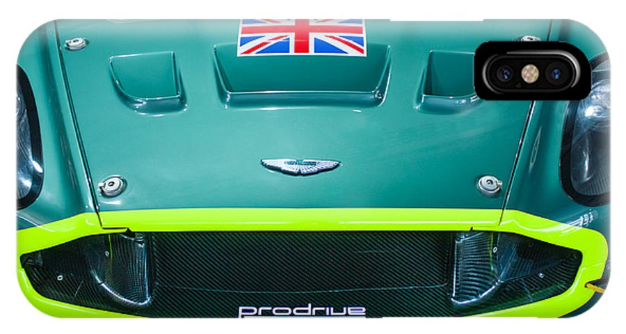 2005 Aston Martin Dbr9 IPhone X Case featuring the photograph 2005 Aston Martin Dbr9 by Jill Reger