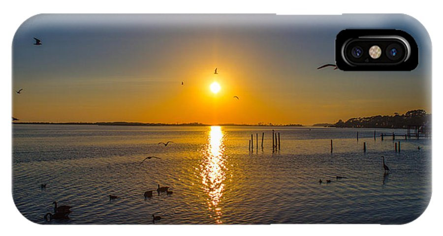 Canvas IPhone X Case featuring the photograph 2014 03 02 01 Ft Walton Beach Fl by Mark Olshefski