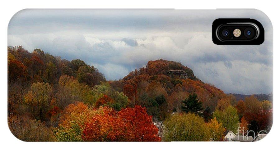 Autumn IPhone X Case featuring the photograph 217a by Scott B Bennett