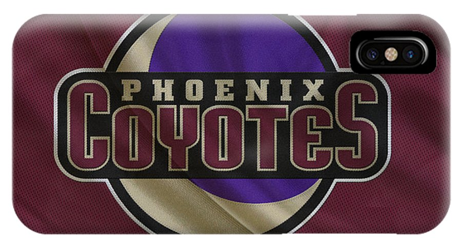 Coyotes IPhone X Case featuring the photograph Phoenix Coyotes by Joe Hamilton
