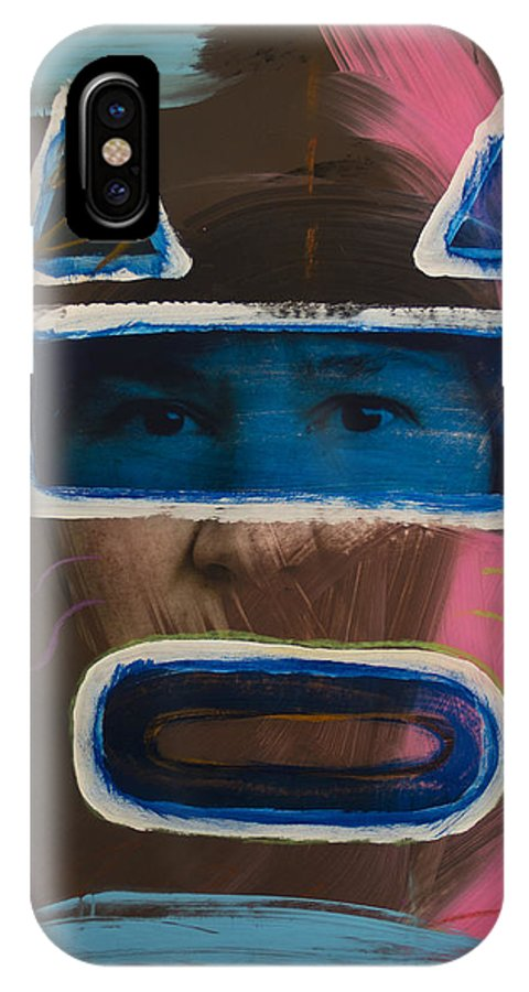 Painted Photographs IPhone X Case featuring the mixed media 2562 by D A Metrov