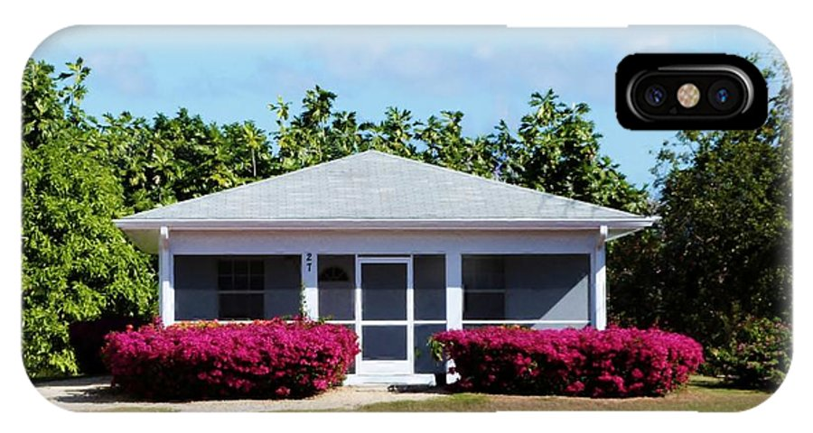 Picturesque Cozy Island Cottage IPhone X Case featuring the photograph 27 Cottage by Amar Sheow