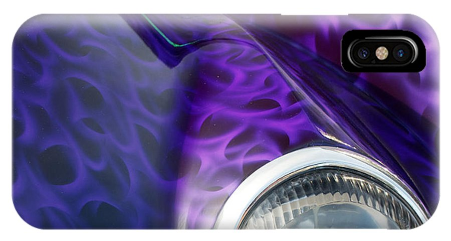 4th Annual IPhone X Case featuring the photograph 1937 Ford Oze by Mark Dodd
