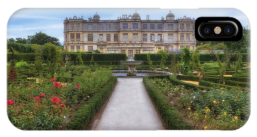 Longleat House IPhone X Case featuring the photograph Longleat House - Wiltshire by Joana Kruse