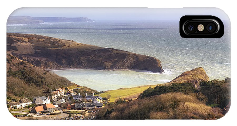 Lulworth Cove IPhone X Case featuring the photograph Lulworth Cove by Joana Kruse