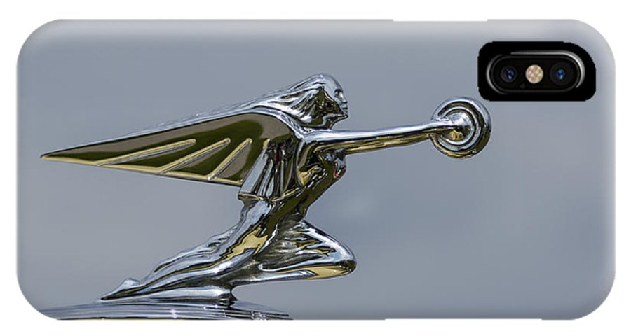 Goddess IPhone X Case featuring the photograph Packard 1936-37 by Jack R Perry