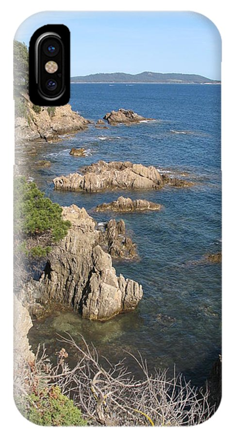 Peninsula IPhone X Case featuring the photograph Peninsula Gien by Christiane Schulze Art And Photography