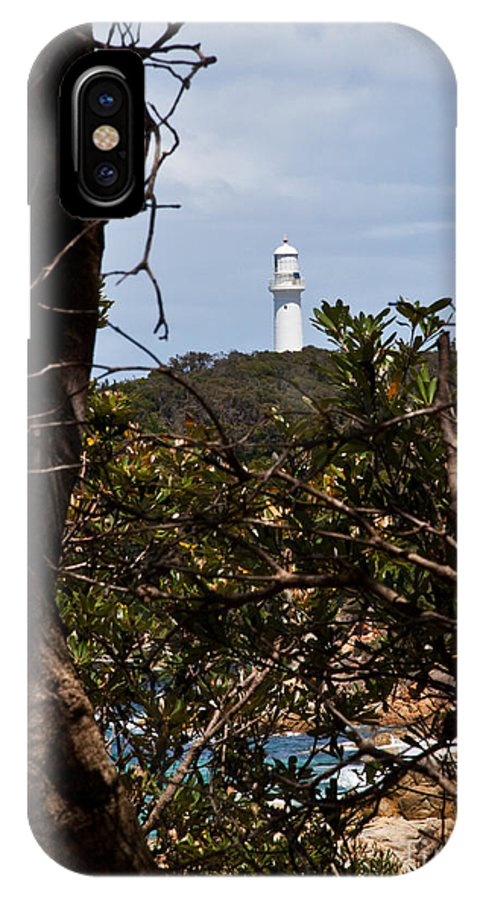 Point Hicks IPhone X Case featuring the photograph Point Hicks Lighthouse by Alexander Whadcoat