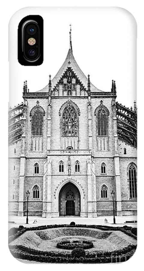 Kutna Hora IPhone X Case featuring the photograph Saint Barbara Church by Michal Boubin