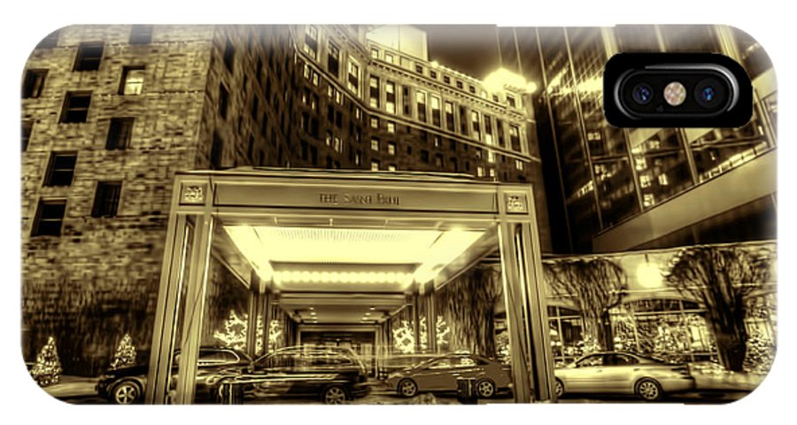 Saint Paul Hotel IPhone X Case featuring the photograph Saint Paul Hotel by Amanda Stadther